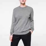 Paul Smith Women's Grey Marl Cashmere Sweater