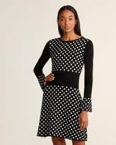Moschino Polka Dot Sweater Dress