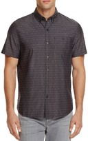 Michael Bastian Dobby Dot Regular Fit Button-Down Shirt