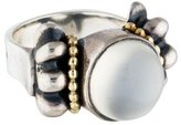 Lagos Two-Tone Moonstone Glacier Ring