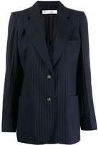Victoria Beckham Bowie striped single-breasted blazer