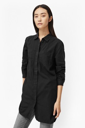 French Connection Pistols Cotton Shirt Dress