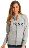 Nixon Nexus Zip Hoodie (Heather Grey) - Apparel