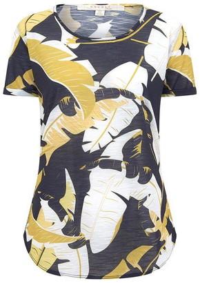 Nougat Myrtle Print T Shirt