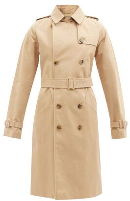 A.P.C. Greta Cotton-twill Trench Coat - Beige