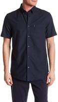 Ben Sherman Short Sleeve Regular Fit Oxford Shirt