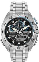 Citizen Black & Silvertone Promaster Super Sport Bracelet Watch - Men