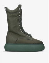 Thumbnail for your product : ATTICO Selene woven ankle boots
