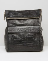 Whistles Verity Backpack in Croc