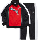 Puma 2-pc. Colorblock Cat Track Suit - Preschool Boys 4-7