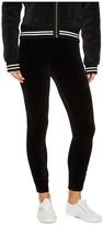 Juicy Couture Stretch Velour Juicy Leggings Women's Casual Pants