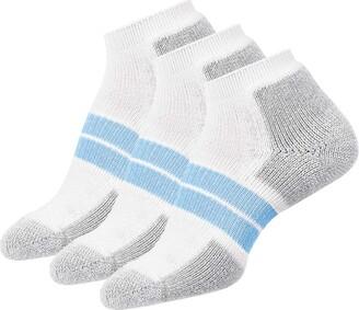 Thorlos Women's 84 N Running Thick Padded Low Cut 3 Pair Pack Sock