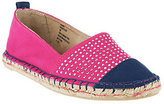 White Mountain As Is Espadrille Slip-ons w/Stud Details - Aura