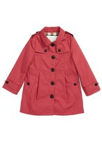 Burberry Infant Girl's 'Sophia' Trench Coat