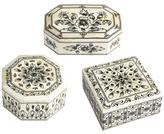 Twos Company Laxmi Vilas Palace Mosaic Boxes (Set of 3)
