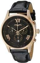 Jorg Gray Men's JG6600-21 Analog Display Quartz Black Watch