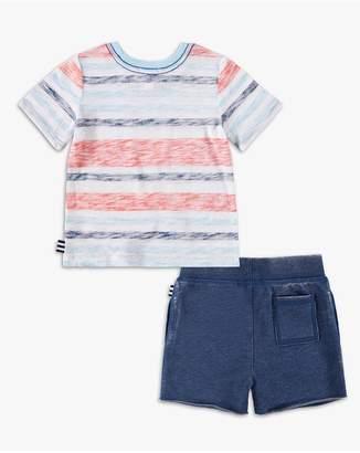Splendid Kids Baby Boy Striped Pocket Tee Set