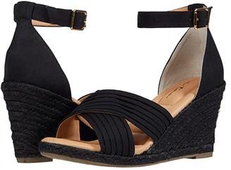 Me Too Bellini (Black Canvas/Black Jute Solid) Women's Shoes