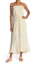 Thumbnail for your product : Love Stitch Strapless Striped Maxi Dress