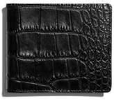 Shinola Alligator Classic Bifold Wallet