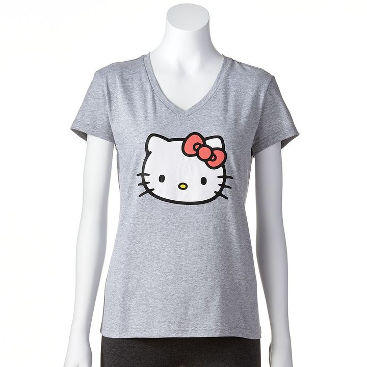 Hello Kitty pajamas: slubbed pajama tee - juniors