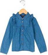 Tommy Hilfiger Girls' Denim Button-Up Top w/ Tags