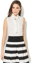 New York & Co. 7th Avenue - Ruffled Sleeveless Blouse