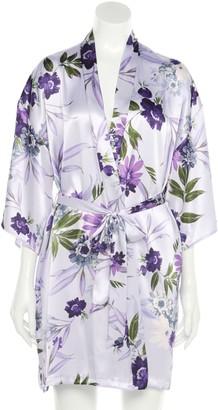 Apt. 9 Women's Print Wrap Robe