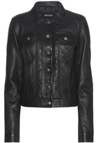Calvin Klein Jeans Exclusive To Mytheresa.com – Slim Trucker Leather Jacket