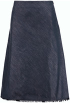 Acne Studios Peneuel denim midi skirt