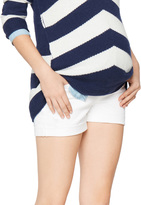 A Pea in the Pod Ag Jeans Secret Fit Belly Hailey Cuffed Maternity Shorts