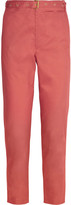 Isabel Marant Cotton-poplin slim-leg pants