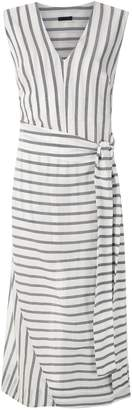 OSKLEN Pareo Stripe maxi dress