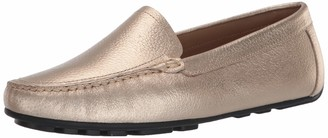 Driver Club Usa Women's Leather Made in Brazil Luxury Driving Loafer with Venetian Detail