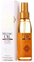 L'Oreal Professionnel Mythic Rich Oil for Unruly Hair, 4.2 Fluid Ounce
