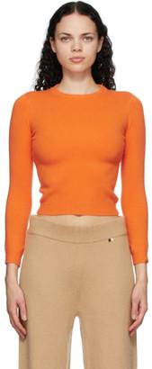 Extreme Cashmere Orange Cashmere Kid Sweater