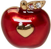 Marc Jacobs Red Single Apple Stud Earring