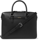 Dolce & Gabbana Cross-Grain Leather Briefcase