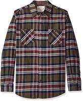 Weatherproof Vintage Men's Long Sleeve Flannel Shirt