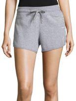 Calvin Klein Heathered Cotton-Blend Shorts