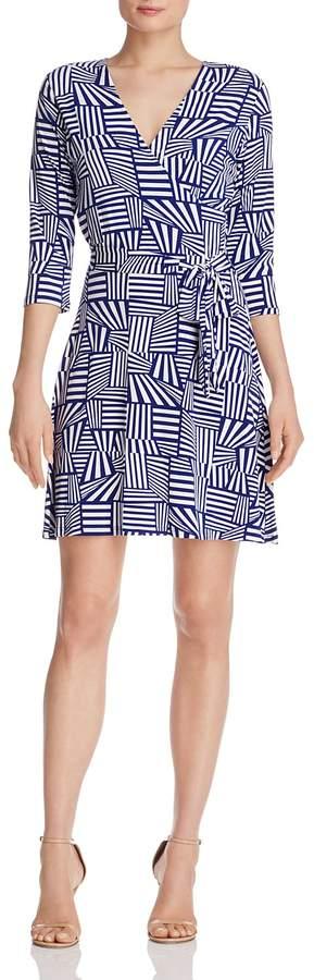 Leota Perfect Wrap Mini Dress