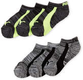 Puma Boys 4-7) 6-Pack Low-Cut Socks