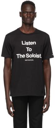 TAKAHIROMIYASHITA TheSoloist. Black Listen To The Soloist T-Shirt