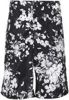 Givenchy floral fitted shorts