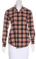 Soft Joie Plaid Button-Up Top w/ Tags