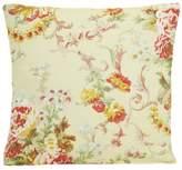 Ralph Lauren Home Decor Pillow Throw Case Floral Cushion Cover Linen Printed Vintage Look Pattern Beige Bairrcliff