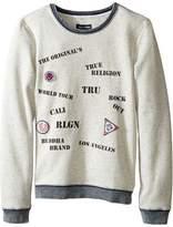 True Religion Stamp Sweatshirt (Big Kids)