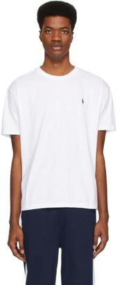 Polo Ralph Lauren White Pony Logo T-Shirt