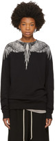 Marcelo Burlon County of Milan Black Mapu Sweatshirt