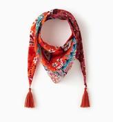 Promod Silky triangle scarf